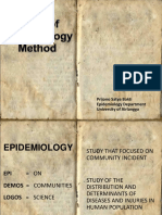 Studi Epidemiologi