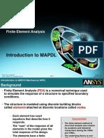MAPDL Intro 13.0