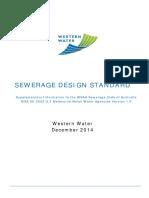 Ww Sewerage Design Standard Melbourne