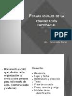 Formas Usuales de La Comunicación Empresarial.pptx