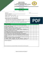 Cot-rpms - t I-III - Rating Sheet