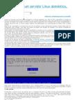 Configurando um servidor Linux doméstico