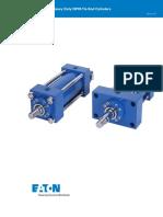 NZ Series Heavy Duty NFPA Tie Rod Cilinders Catalog