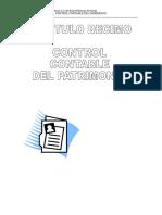 CAPITULO 10 PATRIMONIO