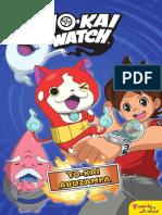 2827 Yokai Watch. Yokai Abuzampa