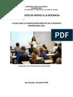 Guia Didáctica Planificación Ciclo 01-2019