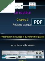 Routeur Chapitre 02 Statique