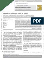 Genetics of Sex Differences in Brain & Behavior