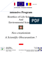 Neo-creationism - Conference - BioEthics