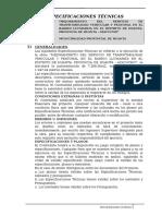 2.a. Especificaciones TecnicaSs
