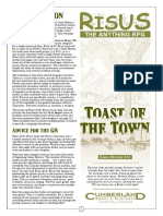 Risus Toast of the Town - A Free Pulp-Fantasy Adventure (11712972)