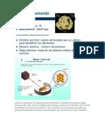 1 Átomos y Elementos 1 El Experimento de Rutherford E