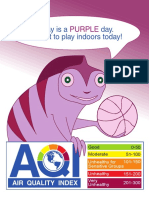 Purple AQI indicator