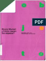 01 y 02 - Bruno Munari - Que es un Problema y Simplificar.pdf