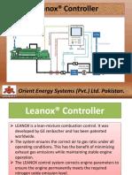 Leanox controller