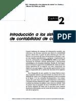 """02) Ocampo, José Eliseo. (2007). """"Introducción a Los Sistemas de Costos"""" en Costos y Evaluación de Proyectos. México Patria"""
