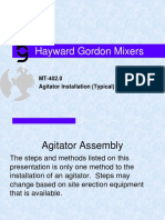 MT 204.0 Agitator Installation