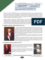 LA REPÚBLICA ARISTOCRÁTICA I (1899 – 1919)