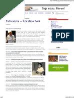 Entrevista Ancelmo Gois - ABI