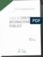 MAZZUOLI, Valério de Oliveira, Curso de Direito Internacional Público