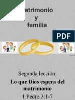 Matrimonio y Familia 2
