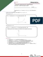 Matemática Clase 12 - Función Exponencial y Logarítmica