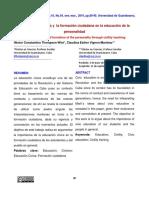 EDUSOL CUBA La Educación Cívica y La Formación Ciudadana en La Educación de La Personalidad