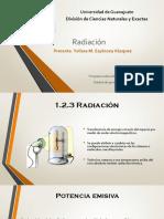 Radiación-Diseño de Equipo Térmico