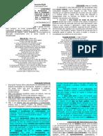 Roteiro na reflexão sobre Educação Popular e Metodologia Popular