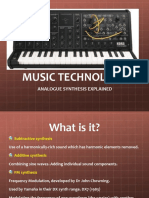 As Music Tech Analogue Synthesis-2