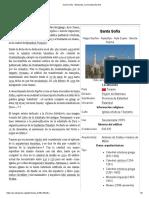 Santa Sofía - Wikipedia, La Enciclopedia Libre