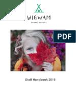 staff handbook 2019