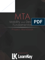 MTA Mobility and Device Fundamentals (98-368) Student Workbook
