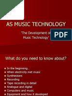 Dev of Music Tech