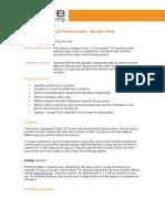 Animal Communication - 14-16 - Teachers' Notes