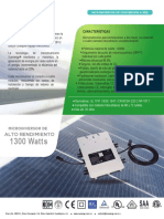2.-Ficha Tecnica Microinversor Sunnergy MS240-1300W V1.2