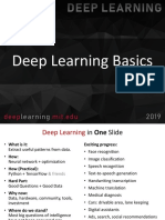 Deep Learning Basics concepts