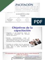 Presentación de capacitación y desarrollo