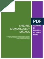 Málaga Errores Gramaticales