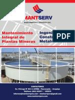 Portafolio de Servicios Mantserv Sac 2019