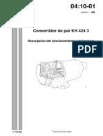 Convertidor de Par KH 424 3