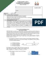 Evaluación Del Primer Parcial Física 2bgu