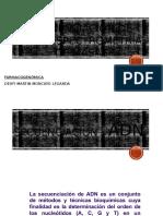 Secuenciación de Adn -Espectrometría de Masas
