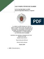 La Educación Musical en La Educación Infantil de España y Bulgaria Análisis Comparado Entre Centros de Bulgaria y Centros de La Comunidad Autónoma de Madrid