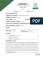 Diario de Campo 1 Lenguaje