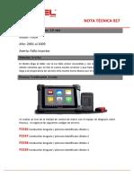 DTC P2336, Ford Focus Codificación Inyectores