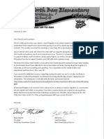 2-4-2019 North Bay Elementary Parent Letter