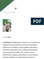 Animismo - Wikipedia, La Enciclopedia Libre