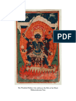 Wrathful Tara , blue tara, mahacinakrama