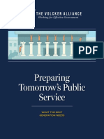 Preparing Tomorrow's Public Service